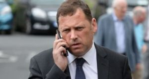 Fianna Fáil TD Barry Cowen, one of his party's government negotiators, has accused Fine Gael of acting in 'bad faith'. Photograph: Dara Mac Dónaill/The Irish Times