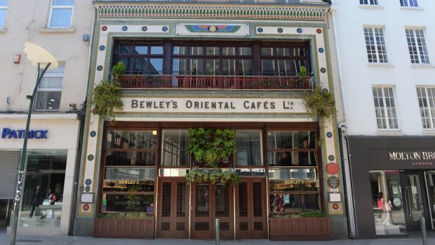 Bewley's on Grafton Street, Dublin: Will it become another Starbucks? Photograph: Dara Mac Dónaill / The Irish Times