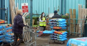 Newlands Home and Garden Centre, Newlands Cross, Dublin, where among the many to reopen as part of first phase of the lifting of Covid-19 restrictions on Monday. Photograph: Dara Mac Dónaill