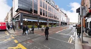 BidX1 is guiding €450,000 for a modern office with two car-parking spaces at the Capel Building in Dublin 7.