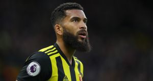 Watford centre-back Adrian Mariappa is self-isolating for seven days and will be retested before he returns to training. Photograph: Richard Heathcote/Getty Images