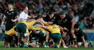The Rugby Championship and the Six Nations would be played at the same time to free up players and lessen overlap. Photo: Hannah Peters/Getty Images