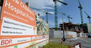 "There won't be ""a mad increase"" like 40 per cent in the cost of the new National Children's Hospital as a result of measures to prevent the spread of Covid-19, Tom Parlon said on Friday. File photograph: Alan Betson"