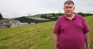 Farmer John Hoey rejected Mr Lehane's claims in relation to shooting of the cattle and said he remains 'haunted' after witnessing the cattle being shot in July 2016. Photograph: Pat Byrne