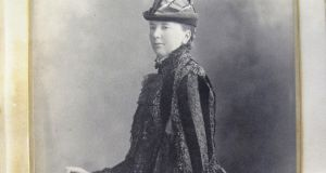Irish novelist and naturalist Emily Lawless (image courtesy of Marsh's Library). Her 1892 novel Grania contained detailed descriptions of the natural world, shaped by her own scientific inquiries, which were praised by Darwin.