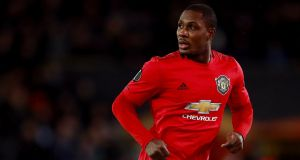 Odion Ighalo's loan spell at Manchester United is coming to an end. Photograph: Adam Davy/PA Wire