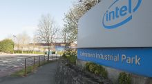 The Intel facility at Leixlip, Co. Dublin.    The productivity of our multinational sector, which is hugely important to our economic fortunes, is boosting our national productivity levels and disguising the relatively poor productivity levels in our indigenous sector. Photograph: Dave Meehan/The Irish Times