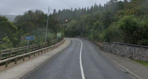 The collision occurred on the N59 road between Mulranny and Newport at 8.30pm on Tuesday. Image: Google Maps