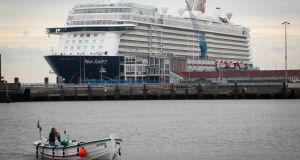 Some 81 per cent of those who tested positive (108 people) on the cruise ship showed no symptoms of the virus. File photograph: EPA/Focke Strangmann