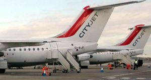 Cityjet lost a contract with Aer Lingus to provide services from Dublin to London City Airport, Birmingham and Paris, several weeks ago.