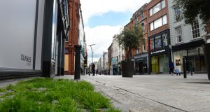 The non-food retail sector is among those is real trouble as a result of Covid. Photograph: Dara Mac Dónaill