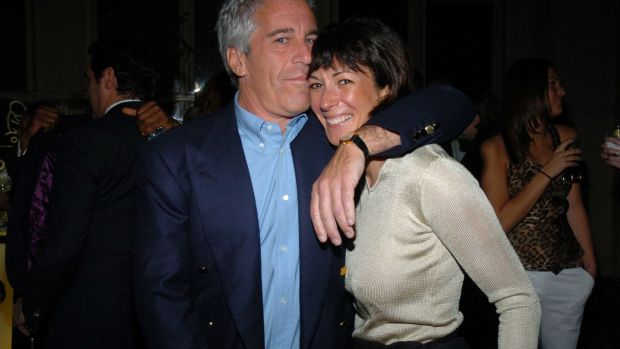 Jeffrey Epstein and Ghislaine Maxwell in New York City in 2005. File photograph: Joe Schildhorn/Patrick McMullan via Getty Images