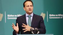 Leo Varadkar: has made a number of comments indicating that he would like to speed up the current plan for a return to normality. Photograph: Photocall Ireland/PA