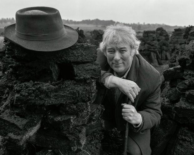Seamus Heaney: . Photograph: Bobbie Hanvey / Bobbie Hanvey Photographic Archive JJ Burns Library Boston College