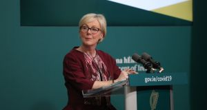 Minister for Social Protection Regina Doherty said there were no plans to reinstate the Covid-19 payment to asylum seekers in direct provision who had lost work. Photograph Nick Bradshaw