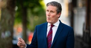 Labour leader Keir Starmer. Photograph: Aaron Chown/PA Wire