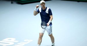Andy Murray will return to action on June 23rd. Photograph: Clive Brunskill/Getty