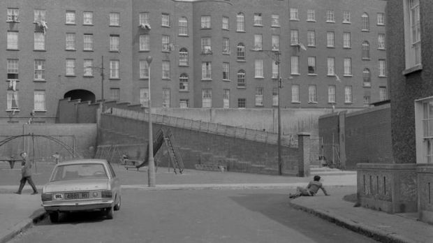 The 27 steps led down into the Gloucester Diamond and were demolished along with the tenements in the early 1980s. Photograph: Dublin City Library and Archives