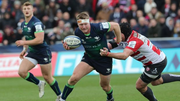Kiwi hooker Tom McCartney has left Connacht after retiring from rugby. Photograph: Billy Stickland/Inpho