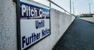 The GAA has confirmed that the walkways around many of its club grounds will reopen on June 8th. Photograph: James Crombie/Inpho