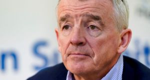 Ryanair CEO Michael O'Leary: he says it is  unrealistic to think that all Irish people will take a holiday at home rather than travelling abroad.   Photograph: Getty Images