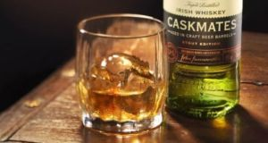 Jameson Irish whiskey   sold 8m cases globally  last year, up from 7.2m a year earlier