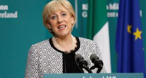 Minister for Business, Enterprise and Innovation Heather Humphreys  said the legislation will 'significantly beef up' Microfinance Ireland (MFI) and enable a significant expansion of the Future Growth Loan Scheme operated by the SBCI. Photograph: Leon Farrell/Photocall Ireland/PA Wire