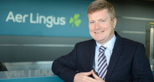 Aer Lingus chief executive Sean Doyle said Aer Lingus has processed about 200,000 refunds or vouchers for customers who had their travel plans disrupted by Covid-19 . Photograph: The Irish Times