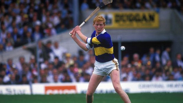 Richard Stakelum in action for Tipperary in 1987. Photograph: Billy Stickland/Inpho