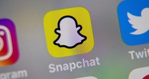 Snapchat has stopped promoting posts by US president Donald Trump, saying they incite racial violence. Photograph: Denis Charlet/AFP via Getty Images