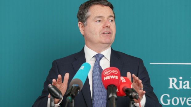 "Paschal Donohoe on the corporation tax take: ""I have said many times before, receipts of this order will not last forever"""
