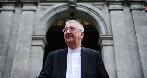 Archbishop Diarmuid Martin: 'There is a willingness on the part of public authorities to examine the possibility of bringing forward the opening of churches'.  Photograph: Bryan O Brien