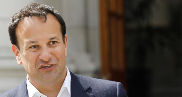 "Taoiseach Leo Varadkar: There is  ""a real absence of moral leadership from the top in the United States"". Photograph: Leon Farrell/Photocall Ireland"