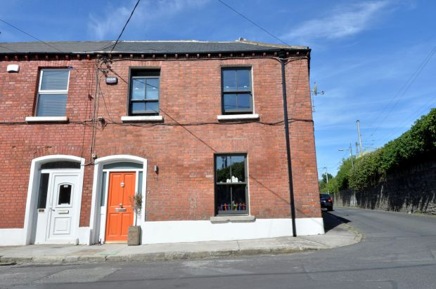 The terraced house at James Street North, North Strand, Dublin. Photograph: Alan Betson/The Irish Times