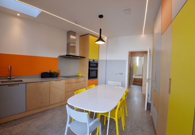 Kitchen and dining area. Photograph: Alan Betson/The Irish Times