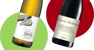 Two to try: Schiefer Steillage Riesling and Domaine de Sainte-Marthe Syrah, both from Dunnes Stores