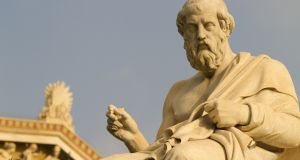 A grounding in mathematics was necessary to join Plato's Academy.