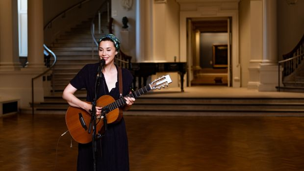 Lisa Hannigan at the National Gallery of Ireland for Other Voices: Courage