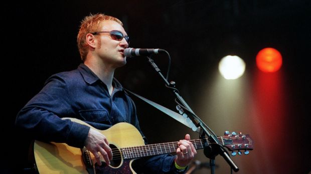 David Gray at the Witness Rock Festival at Fairyhouse Racecourse August 2000. Photograph: Bryan O'Brien