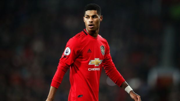 "Marcus Rashford said society is ""more divided than ever"" in a powerful anti-racism message sparked by the death of George Floyd in Minneapolis. Photograph: Martin Rickett/PA Wire"