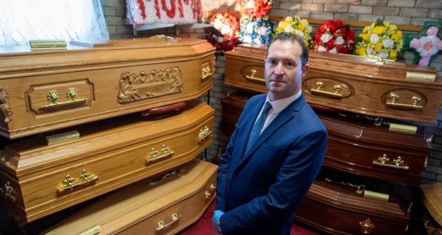 Tralee-based funeral director Graham Gleasure: 'The old ways are returning.' Photograph: Domnick Walsh