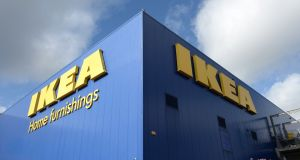 Ikea said it would reopen with a number of anti-virus safety measures in place. Photograph: Dara Mac Dónaill