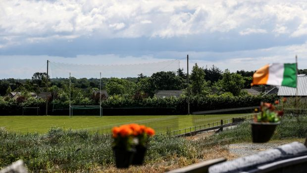 Oulart The Ballagh's ground in Wexford on Friday night. Photograph: Dan Sheridan/Inpho