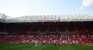 Ole Gunnar Solskjaer's men took part in an inter-squad friendly at Old Trafford. File photograph: Getty Images
