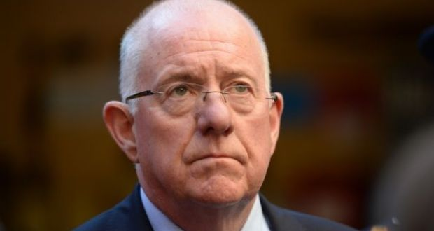 "Minister for Justice Charlie Flanagan told RTÉ's This Week programme ""I'm not happy"" with the direct provision system. Photograph: Dara Mac Dónaill"