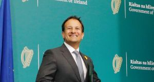 Leo Varadkar announced the revised restrictions on Friday, June 5th. Photograph: : Leon Farrell/Photocall Ireland/PA Wire