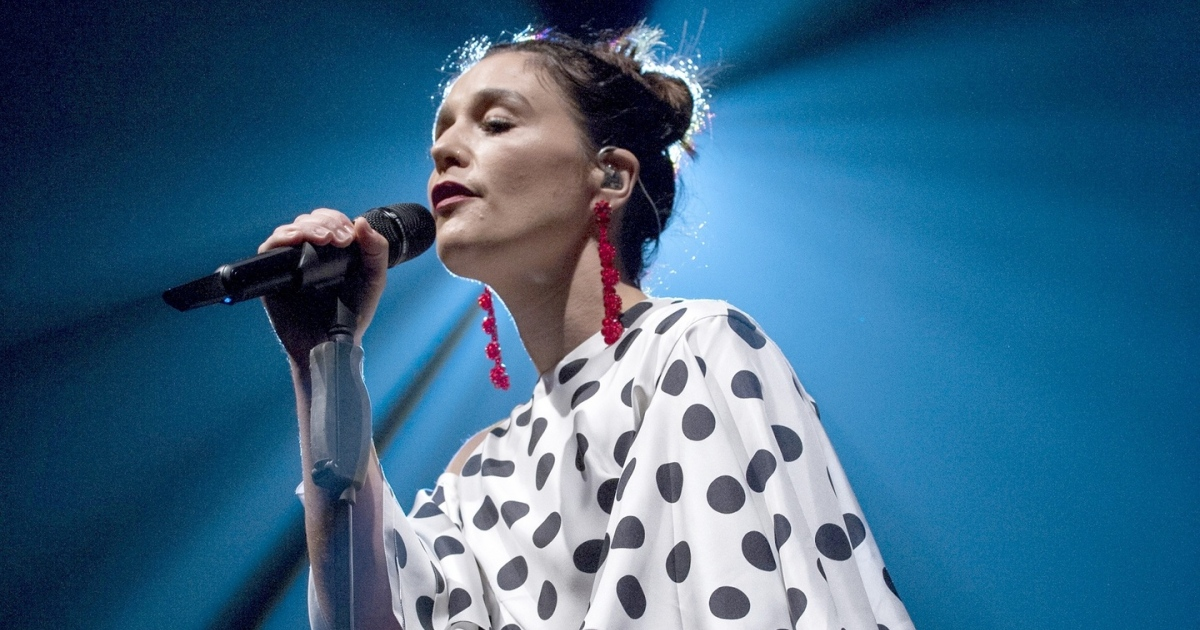 Jessie Ware performing at O2 Academy in Bournemouth. Photograph: Mark Holloway/ Redferns