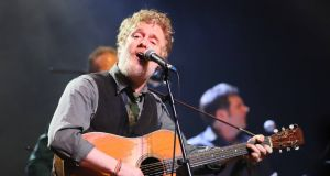 Glen Hansard: Covid-19 has halted much of his earning power. Photograph: Mark Stedman
