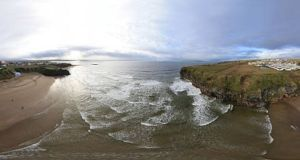 Ballybunnion beach in Co Kerry has lost its Blug Flag status for 2020. Photograph: Getty