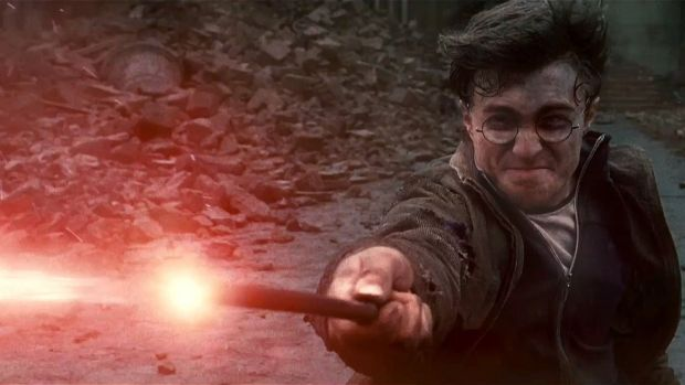 Daniel Radcliffe in Harry Potter and the Deathly Hallows: Part 1.